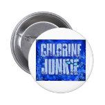 chlorine junkies button