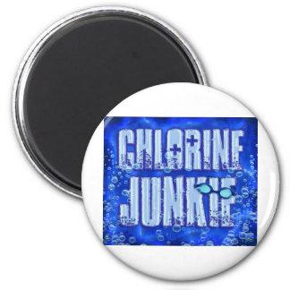 chlorine junkies magnet