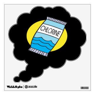 Chlorine Wall Sticker