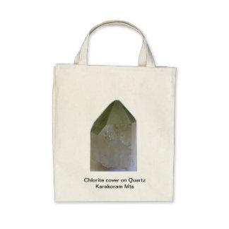 Chlorite in Quartz Tote Bags