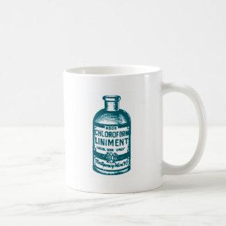 Chloroform bottle coffee mug