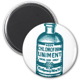 Chloroform bottle magnets