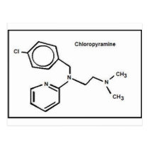 Chloropyramine Postcard