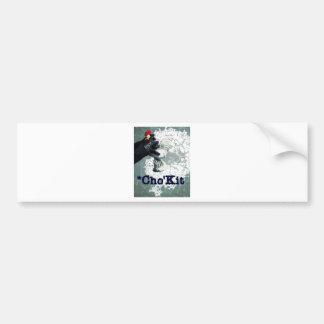 cho kit bumper sticker