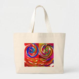 Cho ku ray - Reiki Color Therapy Healing Plate V7 Canvas Bags