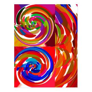 Cho ku ray - Reiki Color Therapy Healing Plate V7 Postcard