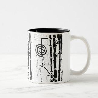 Cho Ku Rei and Bamboo Two-Tone Coffee Mug