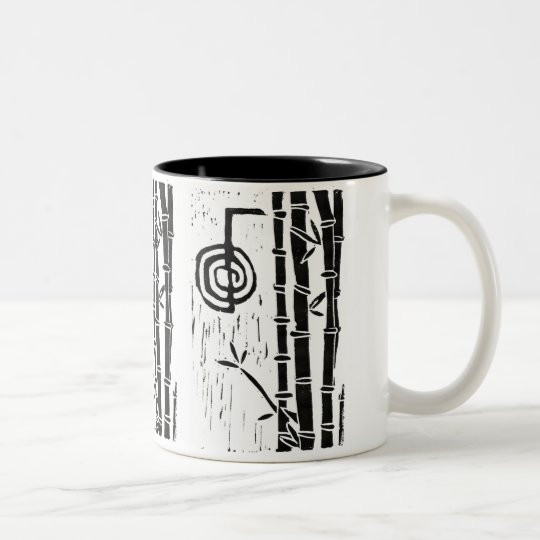 Cho Ku Rei and Bamboo Two-Tone Coffee Mug