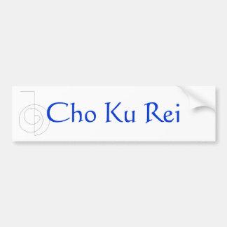 Cho Ku Rei Etiqueta De Parachoque