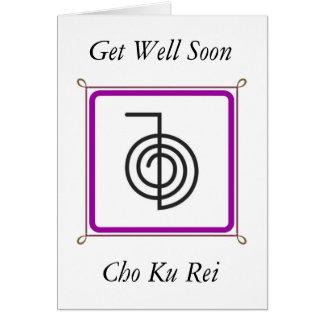 Cho Ku Rei Greeting Card