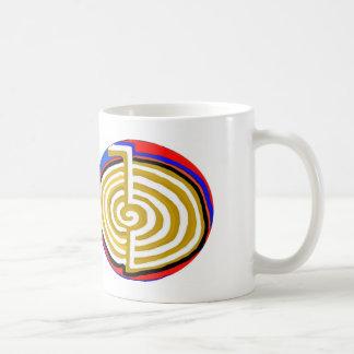 Cho ku rei CHOKUREI Reiki Healing Symbol TEMPLATE Classic White Coffee Mug