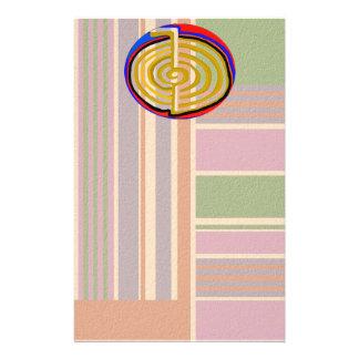Cho ku rei CHOKUREI Reiki Healing Symbol TEMPLATE Stationery