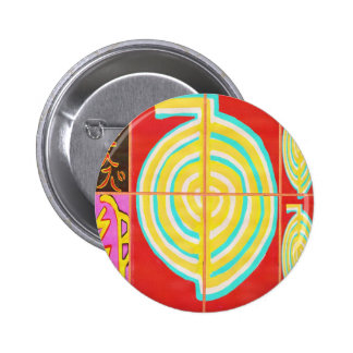 CHO KU REI - Reiki Pin Redondo 5 Cm
