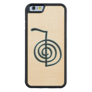 Cho Ku Rei Reiki Symbol Carved Maple iPhone 6 Bumper Case