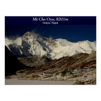 Cho Oyu and Gokyo Poster