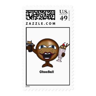 Choc Ball Stamp