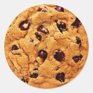 Choc chip cookie stickers