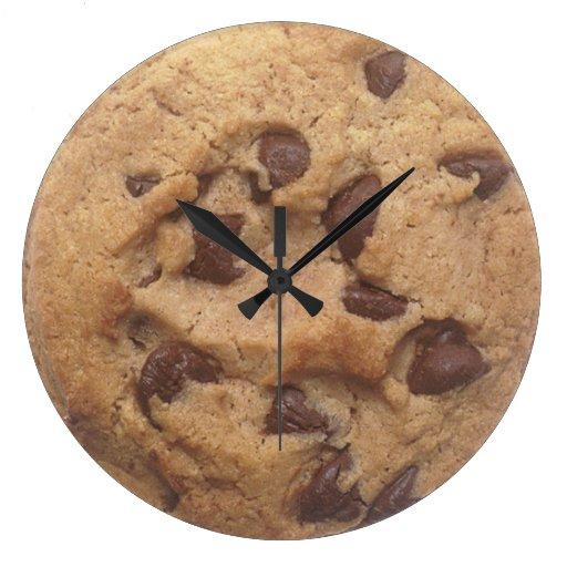 Choc Chip Cookie Wall Clocks