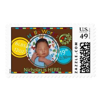 Choc-La-Dot Stamp