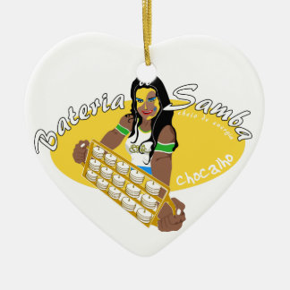 Chocahlo - Batucada Samba Ceramic Ornament