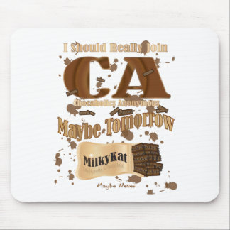 Chocaholics Anonymous Mouse Pad