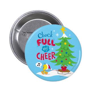 Chock Full Of Cheer 2 Inch Round Button