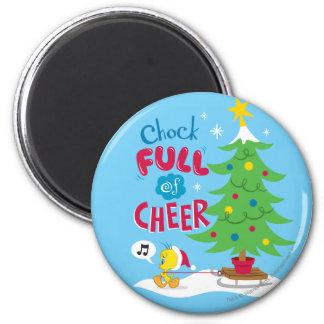 Chock Full Of Cheer Magnet