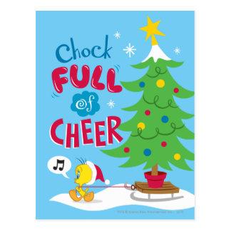 Chock Full Of Cheer Postcard