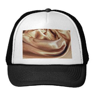 choclate silk ripple hat
