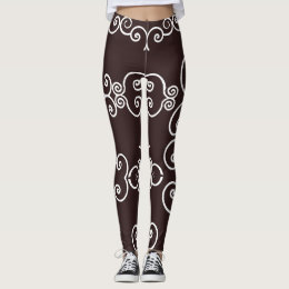 Choco Brown 4Teresa Leggings
