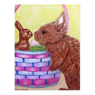 Choco-bunny Postcard