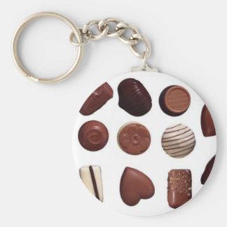 choco chocolate keychain