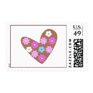 choco heart stamps