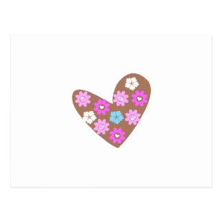 choco heart postcard