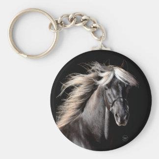 Choco Rocky Mountain Horse Keychain
