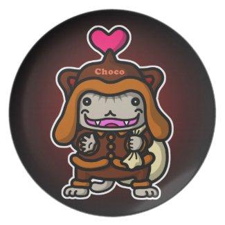 Choco Santanyan Party Plates