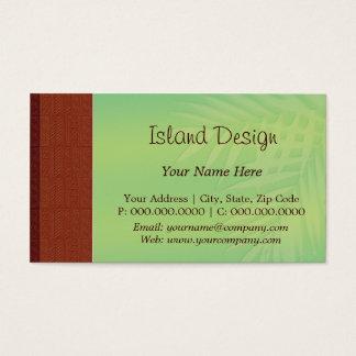 choco tapa palm business card