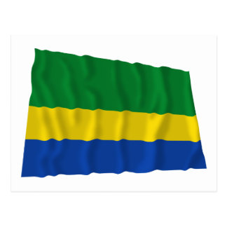 Chocó Waving Flag Postcard