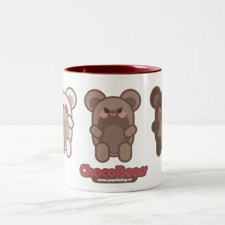 chocobears red mug