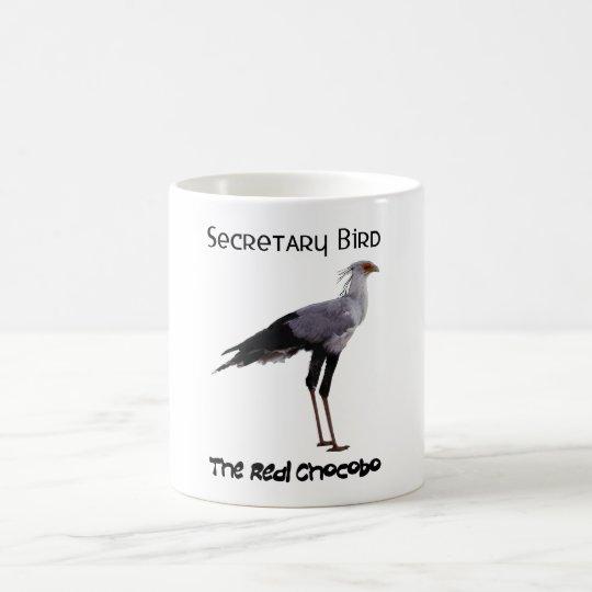 Chocobo (Secretary Bird) - For Light Colored Mugs