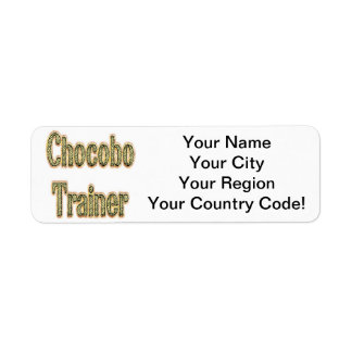 Chocobo Trainer Gold Label