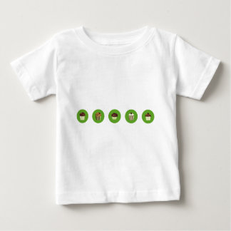 ChocoBrownCupAll2 Baby T-Shirt