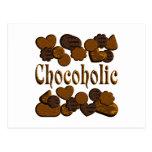 Chocoholic Postcards
