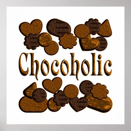 Chocoholic Print
