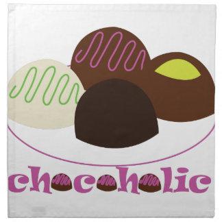 Chocoholic Servilletas Imprimidas