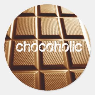 Chocoholic stickers