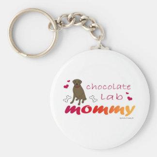 ChocoLabMommy Keychain