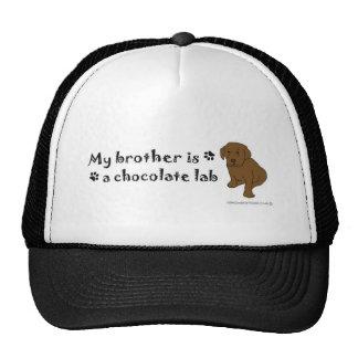 ChocoLabPuppyBrother Trucker Hat