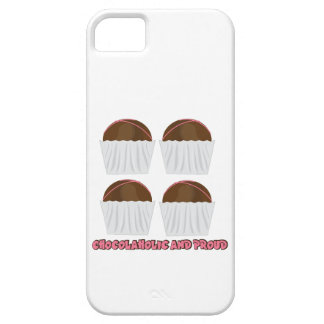 Chocolaholic And Proud iPhone 5 Case