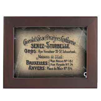Chocolat Cacao Senez Sturbelle Memory Box